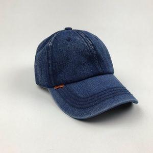 Levi's Denim Orange Tab Trucker Jean Hat Re/Done